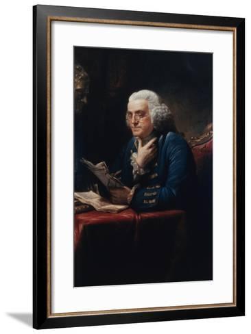 Benjamin Franklin-David Martin-Framed Art Print