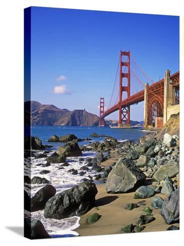 Golden Gate Bridge, San Francisco, California-Hans Peter Merten-Stretched Canvas Print