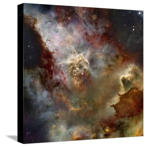 Deep Space Nebula-Steve Allen-Stretched Canvas Print