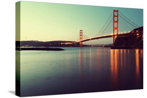 Golden Gate Bridge-Anindo Dey Photography-Stretched Canvas Print