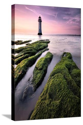 Perch Rock Lighthouse-Paul Bullen-Stretched Canvas Print