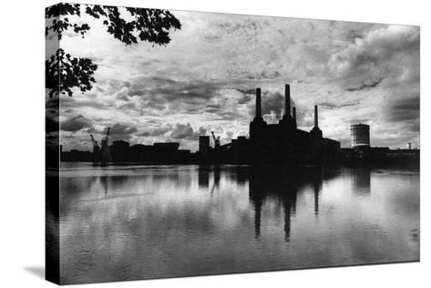 Battersea Landmark-Evening Standard-Stretched Canvas Print