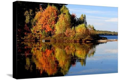 Thompson Lake-photo by Bob Travis-Stretched Canvas Print
