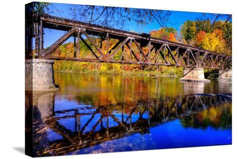 Newaygo State Park - Explored!-Michelle Leale/Total Photography LLC-Stretched Canvas Print