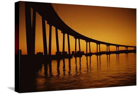 Coronado Bridge-Harvey Meston-Stretched Canvas Print