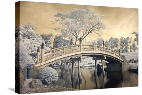 Japanese Style Bridge and Gardens in Singapore-Cheoh Wee Keat-Stretched Canvas Print