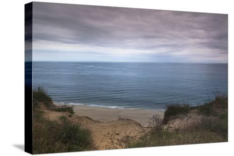 Beach at Highland Lighthouse, North Truro, Cape Cod, Massachusetts, USA-Alberto Biscaro-Stretched Canvas Print