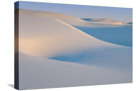 White Sands Natl Mon at Sunrise-Russell Burden-Stretched Canvas Print