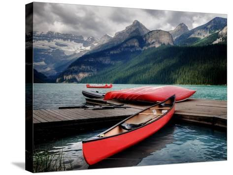 Banff National Park (Lake Louise)-Rex Montalban Photography-Stretched Canvas Print