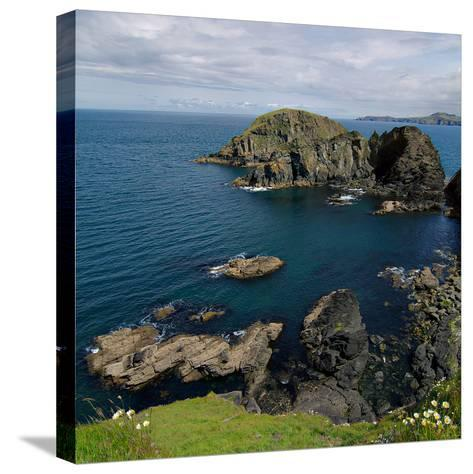 Pembrokeshire Ynys Deullyn-Brian T Photography-Stretched Canvas Print