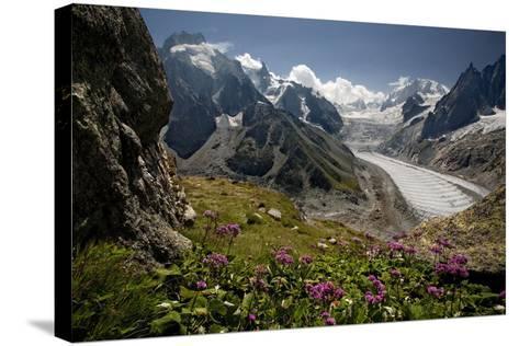 Glacier Du Tacul-BenC-Stretched Canvas Print