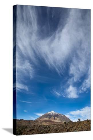 Teide Volcano-Santiago Urquijo-Stretched Canvas Print