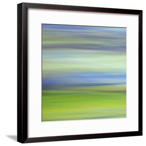 Moved Landscape 6482-Rica Belna-Framed Art Print