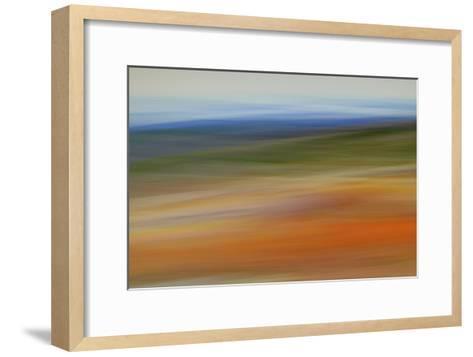 Moved Landscape 6490-Rica Belna-Framed Art Print
