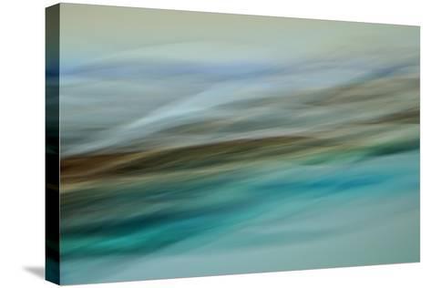 Moved Landscape 6479-Rica Belna-Stretched Canvas Print