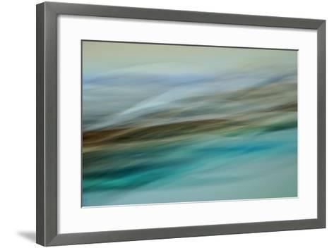 Moved Landscape 6479-Rica Belna-Framed Art Print