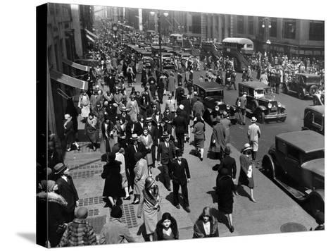 New Yorkers-Hulton Archive-Stretched Canvas Print