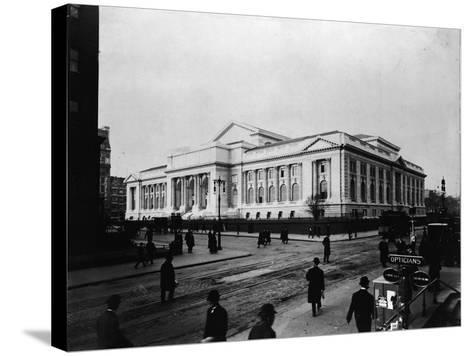 New York Public Library Main Branch-FPG-Stretched Canvas Print