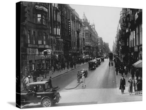 Friedrichstrasse-Hulton Archive-Stretched Canvas Print