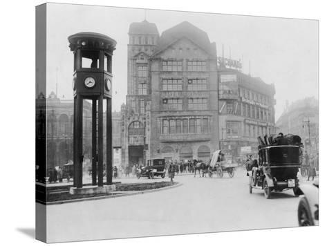 Potsdamer Platz-General Photographic Agency-Stretched Canvas Print