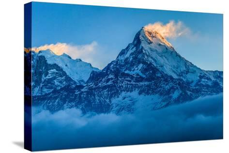 Dawn Light over Annapurna, Nepal-Feng Wei Photography-Stretched Canvas Print