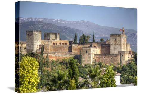 Alhambra-silvana magnaghi-Stretched Canvas Print