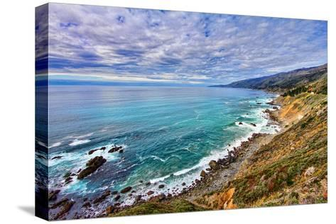 The Pacific Ocean-David Toussaint-Stretched Canvas Print