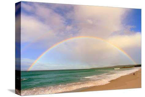 Rainbow Australia-tim phillips photos-Stretched Canvas Print