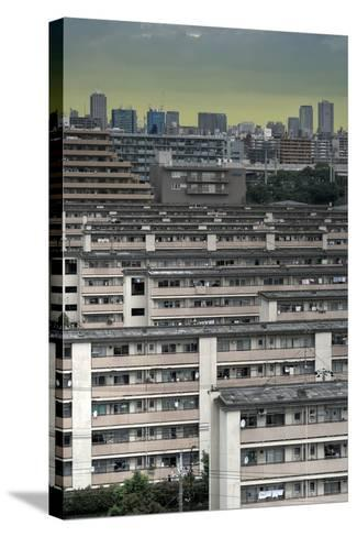 Southeastern Tokyo Buildings-Chris Jongkind-Stretched Canvas Print