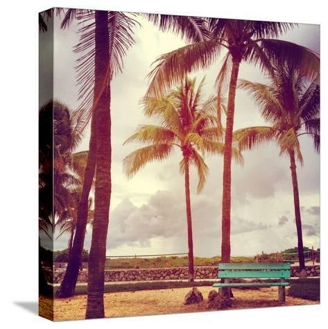 South Beach-David Kozlowski-Stretched Canvas Print