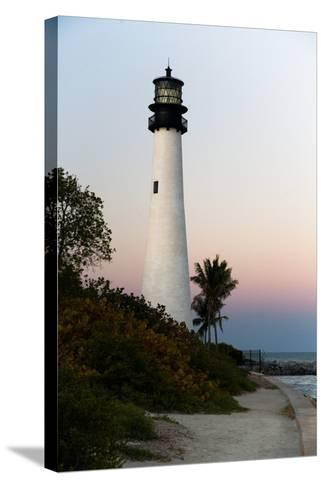Key Biscayne Lighthouse-Steven Trainoff Ph.D.-Stretched Canvas Print
