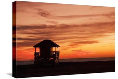 Lifeguard Post-Buena Vista Images-Stretched Canvas Print