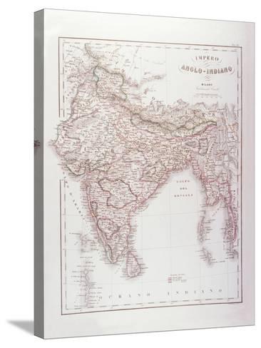 Anglo-Indian Empire-Fototeca Gilardi-Stretched Canvas Print