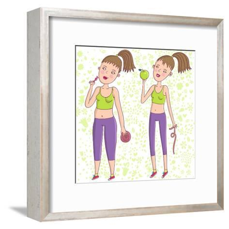 Healthcare Concept-smilewithjul-Framed Art Print