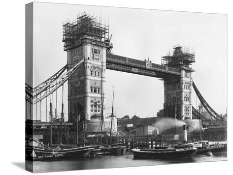Tower Bridge--Stretched Canvas Print