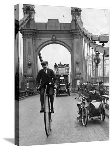Penny Farthing-Hulton Archive-Stretched Canvas Print