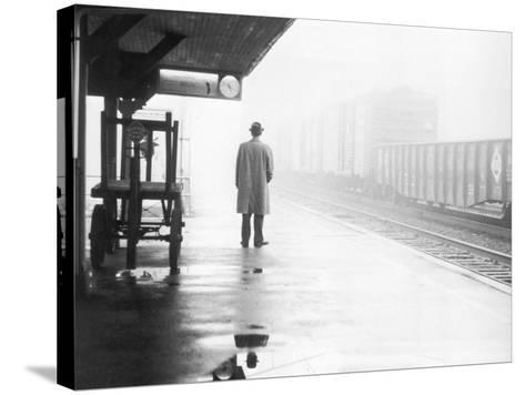Lonely Commuter-FPG-Stretched Canvas Print