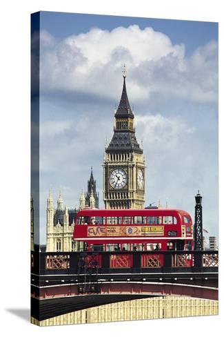 Big Ben, London, England, UK-Digital Vision.-Stretched Canvas Print
