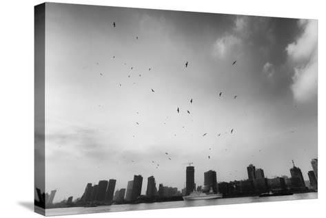 Hover-Blackstation-Stretched Canvas Print