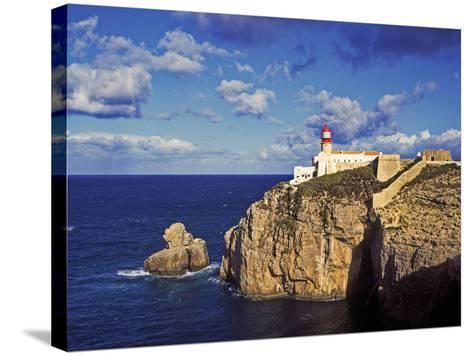 Farol De Cabo De Sao Vicente, Algarve, Portugal-Hans Peter Merten-Stretched Canvas Print