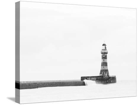 Roker Pier and Lighthouse, Sunderland, UK-Jason Friend Photography Ltd-Stretched Canvas Print
