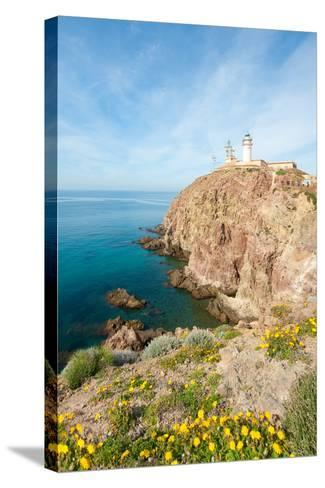 Cape of Gata Lighthouse in Andaluc??A, Spain-Asier-Stretched Canvas Print
