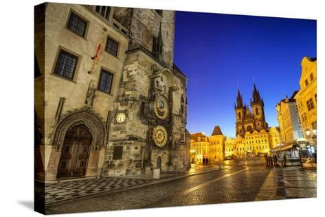 Old Town Share in the Morning-photo by Miroslav Petrasko-Stretched Canvas Print