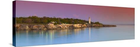 Lighthouse on Negril's Most Western Point, Jamaica-Doug Pearson-Stretched Canvas Print