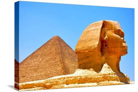 Great Sphinx of Giza-Taylor Buckman-Stretched Canvas Print