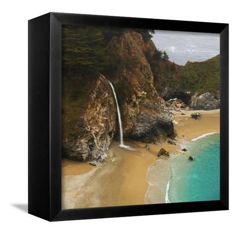 Waterfall-Robert Dalton-Framed Canvas Print