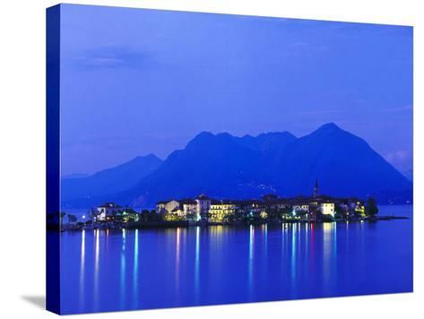 Isola Pescatori at Dawn-Brian Lawrence-Stretched Canvas Print