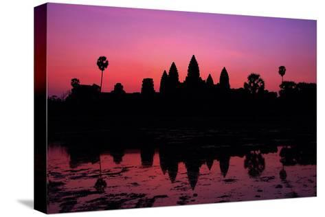 The Temples of Angkor-Denise Leong-Stretched Canvas Print