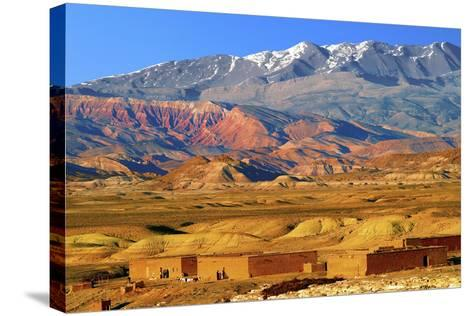 Village in the Atlas Mountain-Visions Of Our Land-Stretched Canvas Print