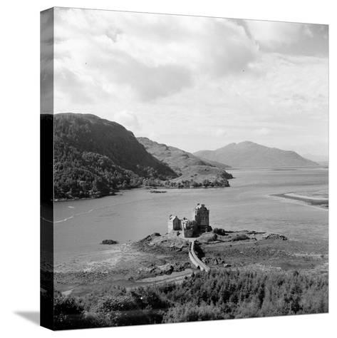 Loch Ness-Three Lions-Stretched Canvas Print